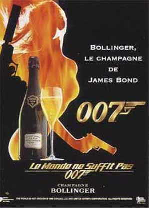BOLLINGER – Champagne of JamesBond